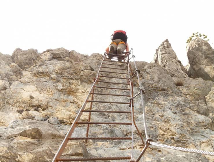 Klettersteigtouren