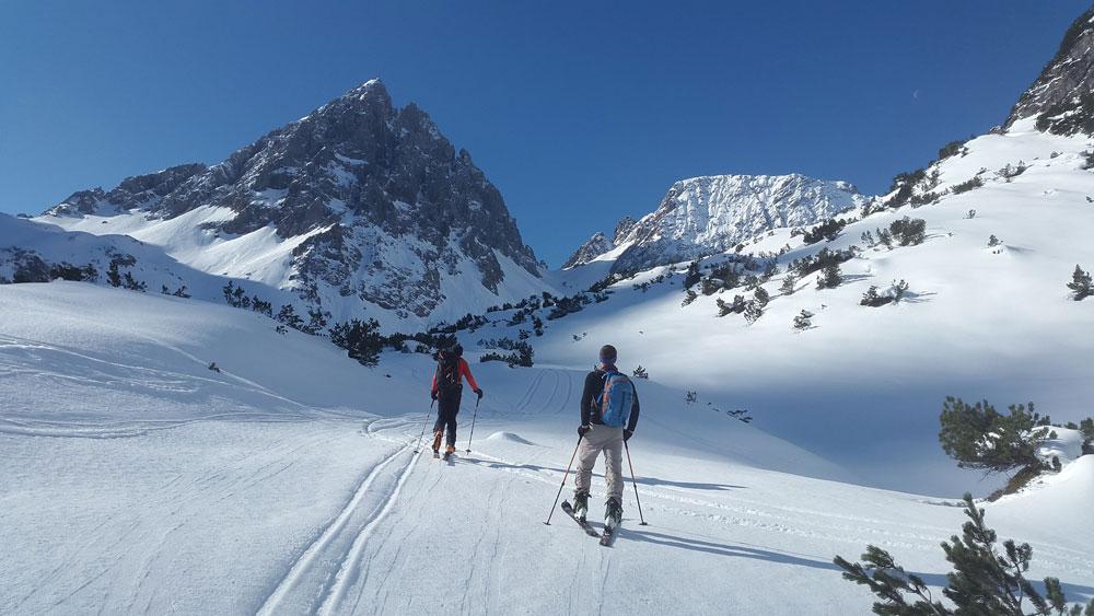 4 Gipfeltour in der Osterhorngruppe / Skitour