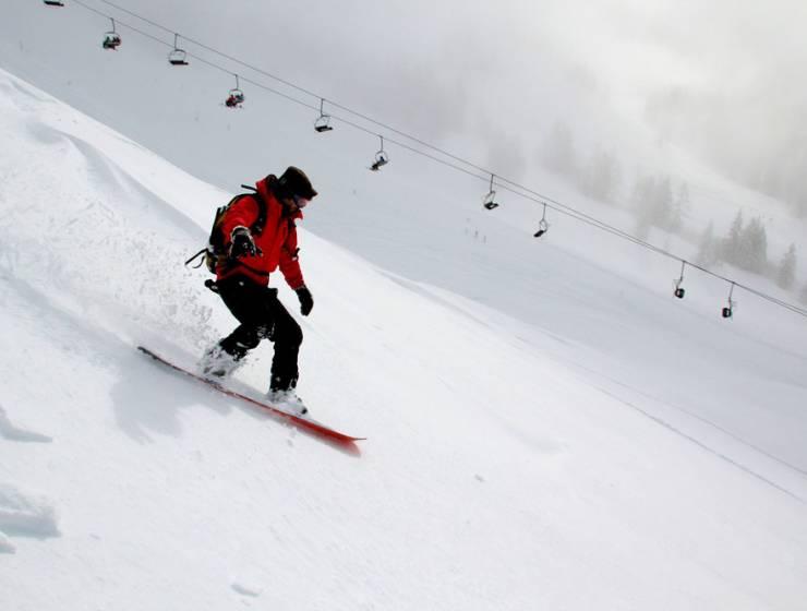 Snowboardtouren