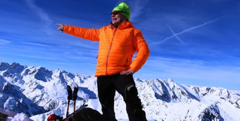 Skitour Kuhscheibe (3189m)