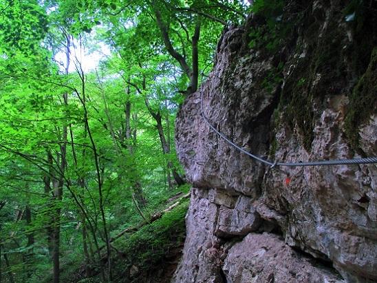 Via ferrata Ariadne fonala (310m)
