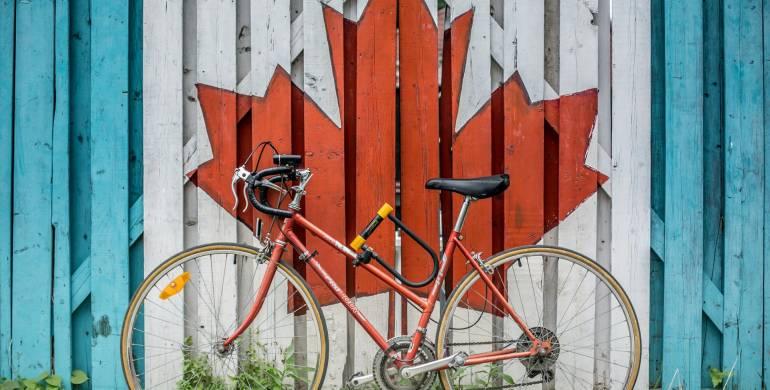 Mit dem Fahrrad durch Kanada von Banff nach Jasper